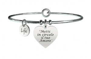 Kidult Bracciale Free Time, Life, Ligabue official Collection METTI IN CIRCOLO..