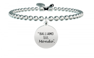 Kidult Bracciale Free Time, Life, Ligabue official Collection (Boule, Balliamo sul Mondo)