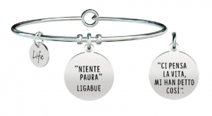 Kidult Bracciale Free Time, Life, Ligabue official Collection (Niente paura)