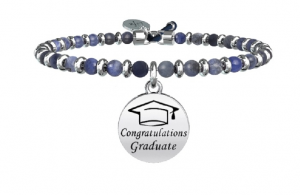 Kidult Bracciale Special Moments, Life, LAUREA | DREAMS -Sodalite