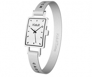Kidult Bracciale Time Collection, Rettangolare, Carpe Diem