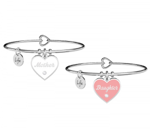 Kidult Bracciale Family, Life (Mother-Daughter Amore infinito)