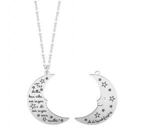 Kidult Collana Symbols, Life, (Luna | A. de Saint-Exupéry)