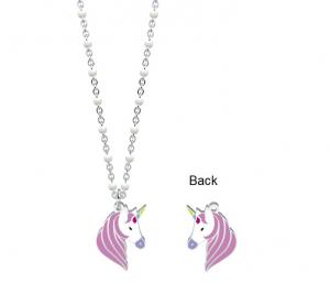 Kidult Collana Symbols, Life (Unicorno   Desideri - Lung. 44 cm)
