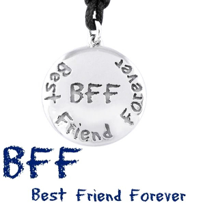 Bliss Collana Argento Emotions - BFF best friend forever -