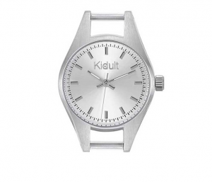 Kidult Orologio, Time Collection (Acciaio, quadrante silver)