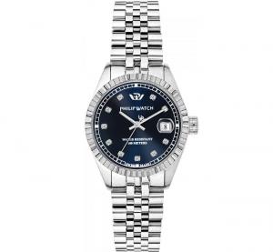 Philip Watch Caribe (Quadrante blu con Diamanti)