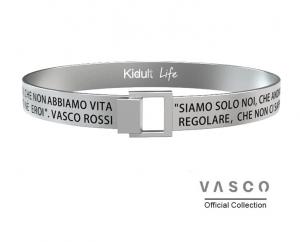 Kidult Bracciale Free Time, Life, Siamo solo noi Vasco Official Collection (Siamo solo noi...)