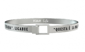 Kidult Bracciale Free Time, Life, Ligabue official Collection (Questa è la mia vita)