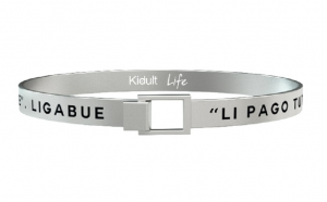 Kidult Bracciale Free Time, Life, Ligabue official Collection (Hai un momento, Dio?)