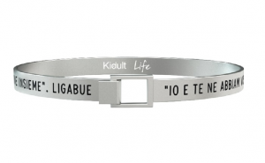 Kidult Bracciale Free Time, Life, Ligabue official Collection (L'amore conta)