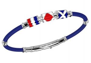 Zancan Bracciale Regata (Bandiere nautiche, Kevlar Blu)