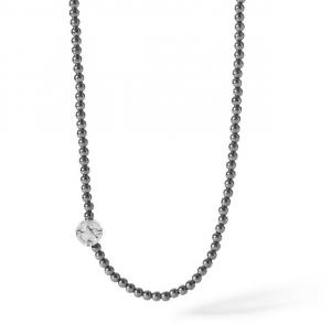 Comete Collana Stella Polare - Argento, lucido e brunito -