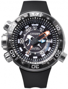 Citizen Aqualand Eco Drive Depth Sensor