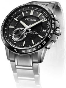 Citizen Satellite Wave F150 GPS Cassa e bracciale acciaio