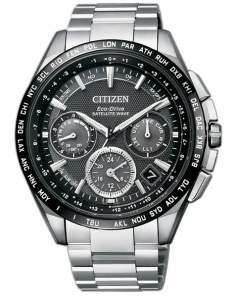 Citizen Satellite Wave F900 GPS Cassa e bracciale supertitanio