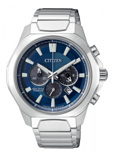 Citizen Crono Super Titanio 4320 Quadrante blu