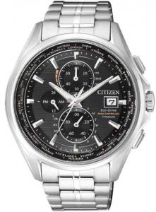 Citizen H800 Elegance Quadrante nero, cassa e bracciale supertitanio