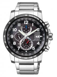 Citizen H800 Sport Quadrante nero, bracciale acciaio