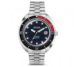 Bulova orologio Oceanographer, meccanico 44mm. (Lunetta nero-rossa)