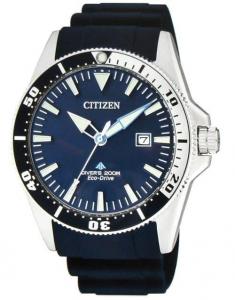 Citizen Diver's 200 mt Eco-Drive (Cinturino gomma blu)