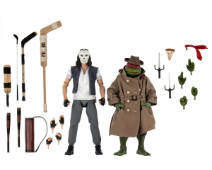 Teenage Mutant Ninja Turtles Action Figure from Movie 1990 -  2-Pack Casey Jones & Raphael in Disguise by Neca