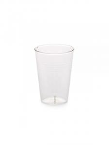 Bicchiere birra in vetro trasparente di Seletti