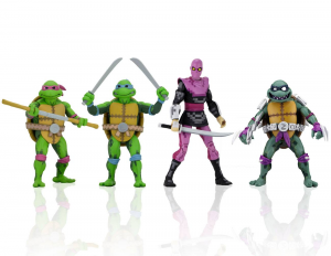Teenage Mutant Ninja Turtles: Turtles in Time Action Figures Series 1 (completa) by Neca