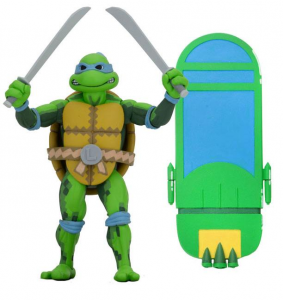 Teenage Mutant Ninja Turtles: Turtles in Time Action Figures Series 1 LEONARDO by Neca