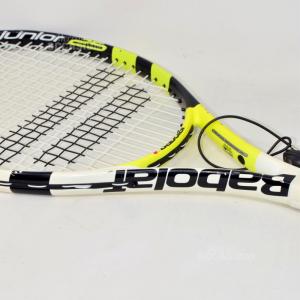 Racchetta Da Tennis Babolat Bianca Gialla