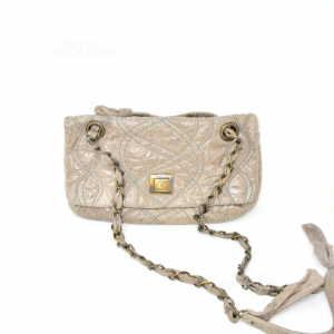 Borsa Donna Marrone Maliparmi In Pelle