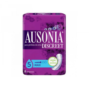Ausonia Discreet Sanitary Towels  Maxi Urinary Incontinence 8 Units