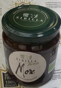 Marmellata biologica di More 340 gr