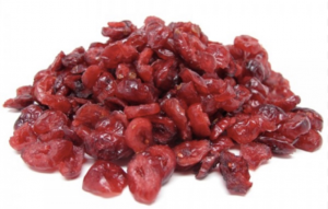 Mirtilli rossi disidratati senza zucchero 250 gr