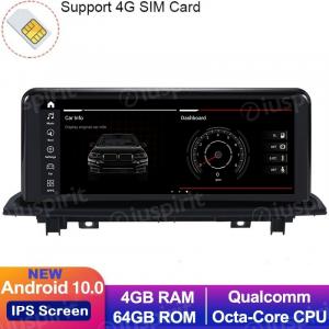 ANDROID 10 navigatore per BMW X1 F48 2016-2017 Sistema originale NBT 10.25 pollici WI-FI GPS 4G LTE Bluetooth MirrorLink 4GB RAM 64GB ROM