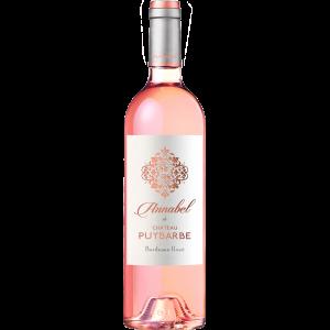 Annabel de Château Puybarbe - AOC Cotes de Bourg Bordeaux Rosè