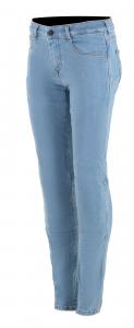Jeans moto donna Alpinestars DAISY V2 Blu Chiaro