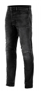 Jeans moto Alpinestars AS-DSL SHIRO RIDING Nero Overdyed