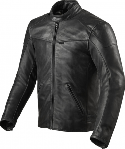 Giacca moto pelle Rev'it Sherwood Nero