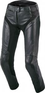 Pantaloni moto donna pelle Macna Mohita Nero