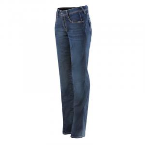 Jeans moto donna Alpinestars STELLA ANGELES Mid Tone Blu
