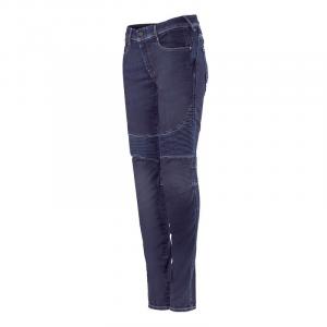 Jeans moto donna Alpinestars STELLA CALLIE Rinse Blu