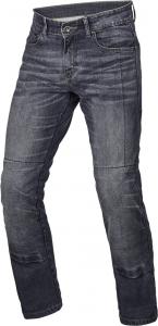Jeans moto accorciati Macna Revelin Grigio Scuro