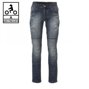 Jeans moto Befast ULTRON CE Certificati con fibra aramidica Blu stonewash