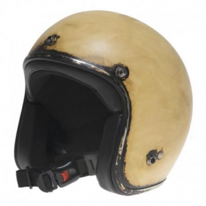 Casco jet Holy Freedom Le Clochard 1972 NO ECE beige