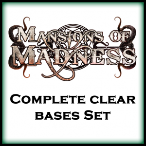 Mansions of Madness 2nd Ed. Complete Collection Clear Bases Set