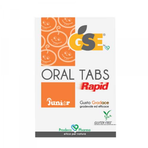 GSE Oral Tabs Rapid Junior 12 compresse