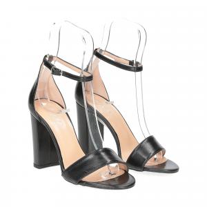 Il Laccio sandalo 1000 pelle nero