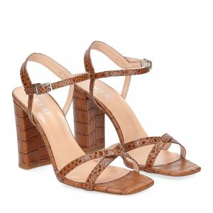 Il Laccio sandalo 1200 pelle cocco cuoio
