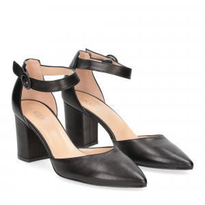 Il Laccio sandaliera 1357 pelle nero